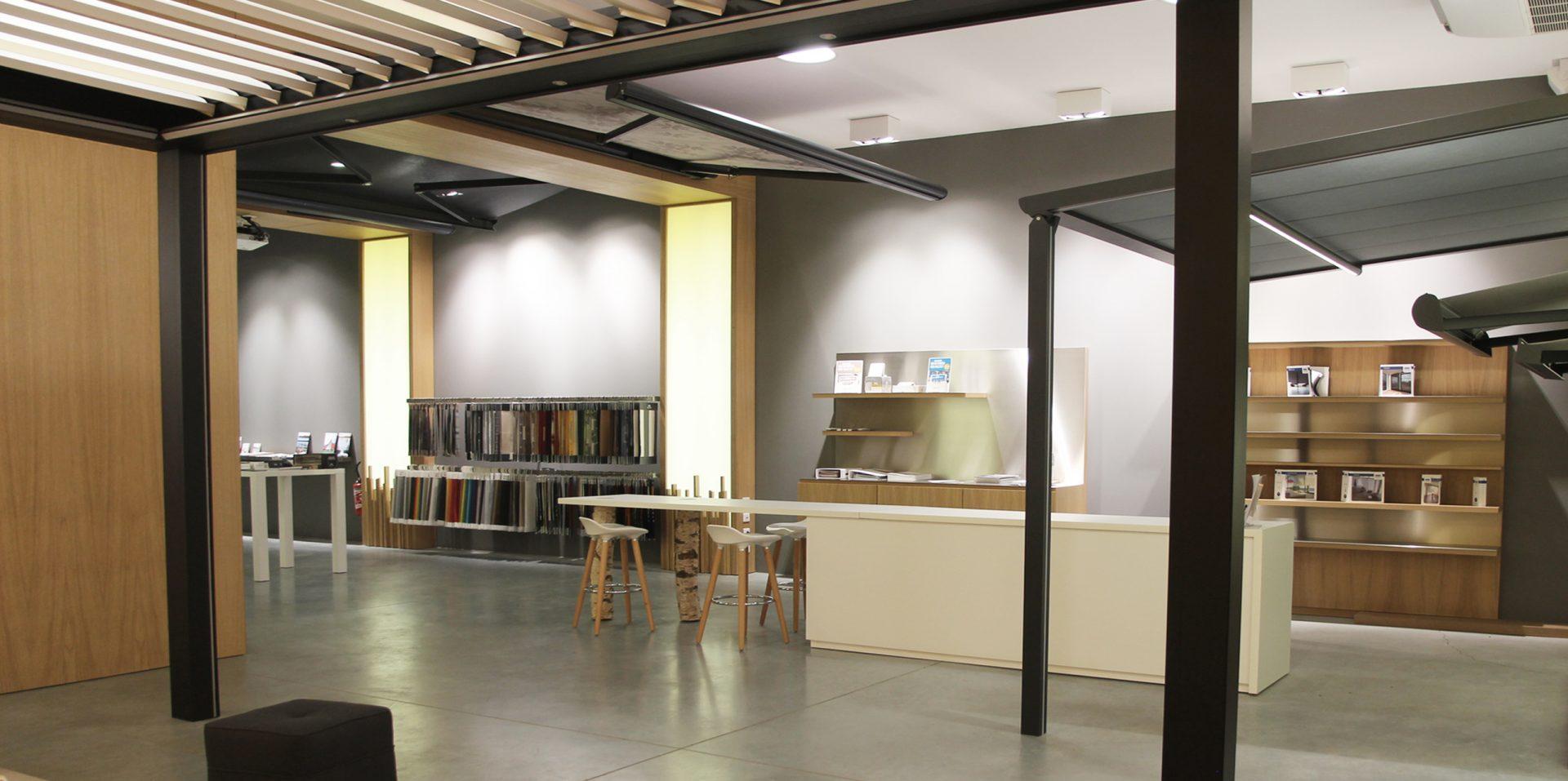 Showroom Stores de France showroom aménagemant inérieur