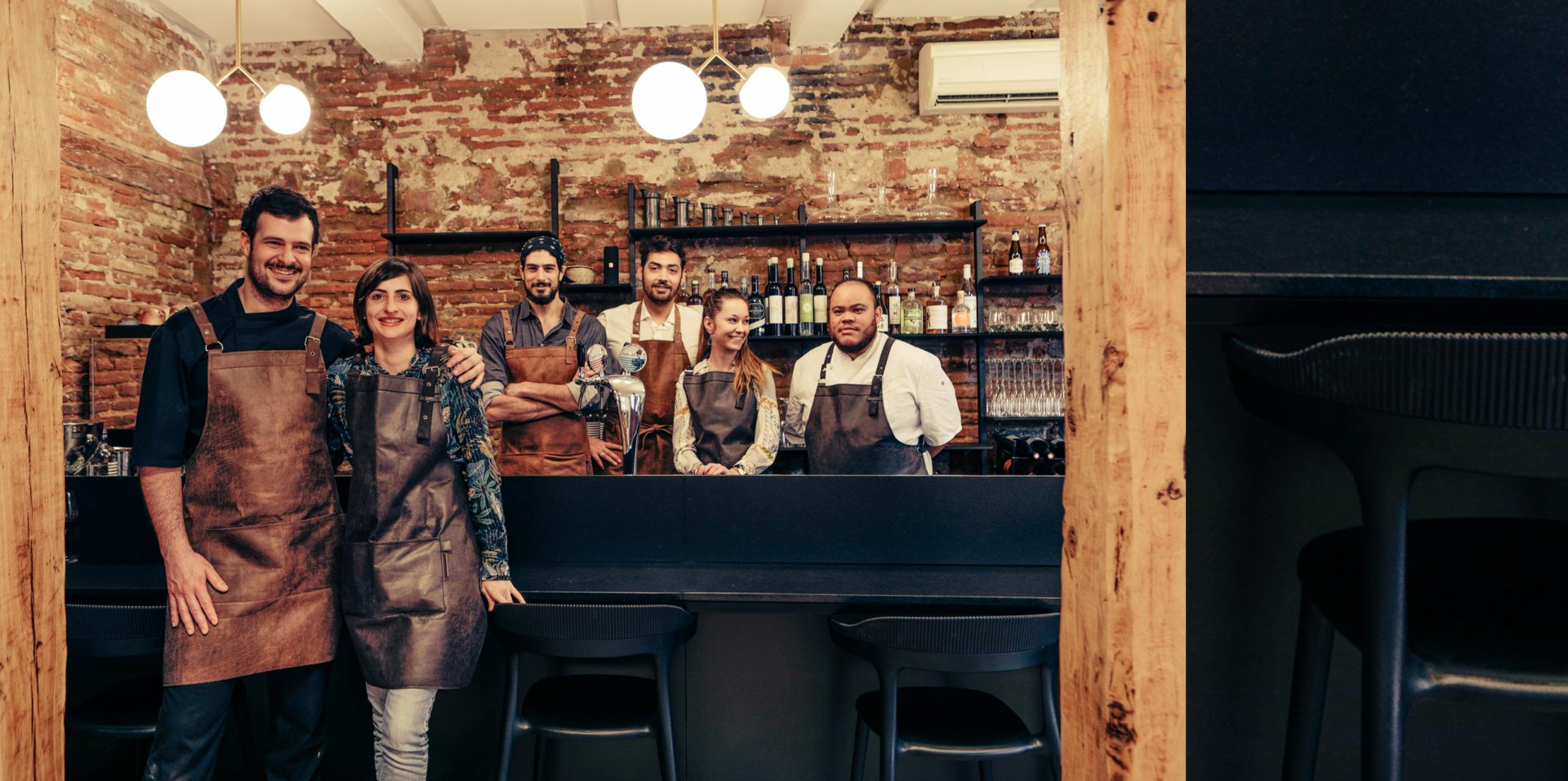 Reamenagement Restaurant CATXO Bar equipe