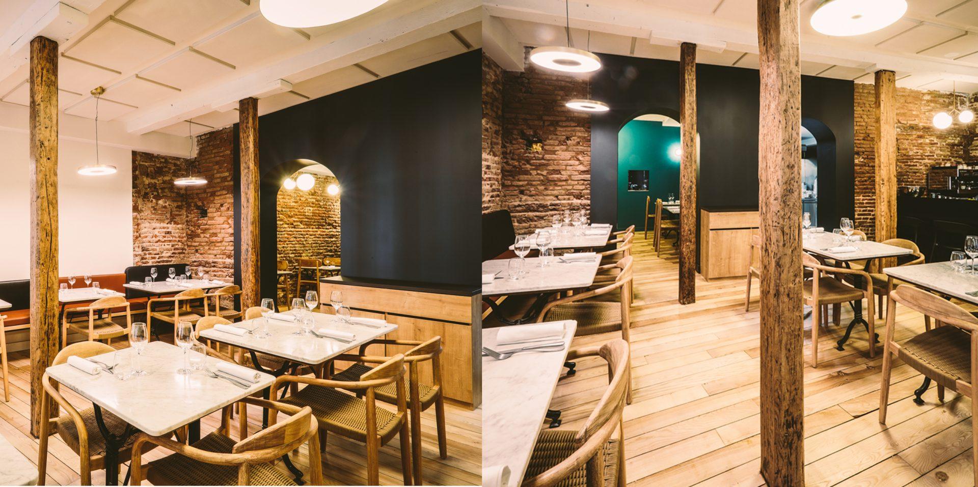 Reamenagement Restaurant CATXO Salles restaurant bis