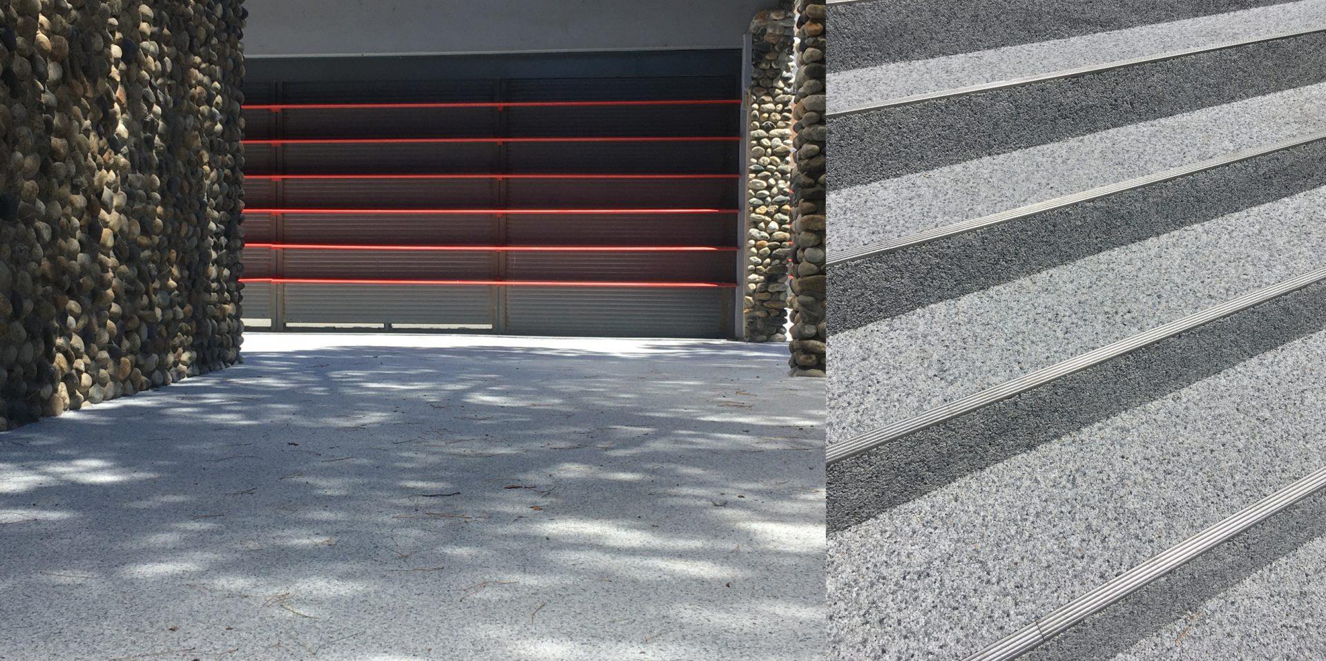 Refextion du Parvis du centre commercial - Résidence du Chateau d'Ancely 4